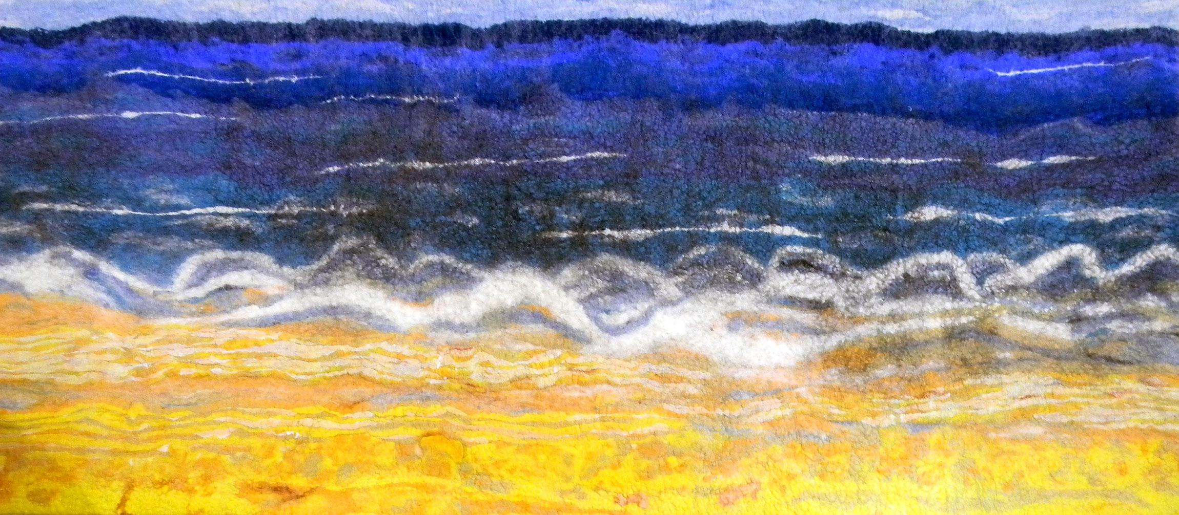 Wool felt Artworks - Diane Gonthier